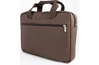 """Сумка для ноутбука 15.6"""" HQ-Tech EL-158913S, коричневая (нейлон), фото 3"""