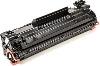 Картридж HP 85A (CE285A), Black, LJ P1102/M1132/M1212/M1214/M1217, ресурс 1600 листов, ColorWay Premium, фото 3