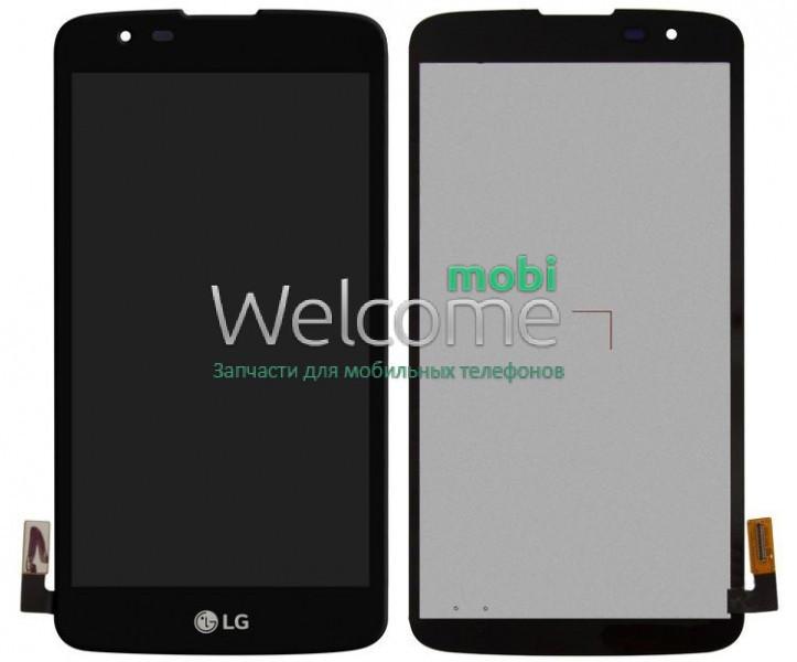 Модуль LG K350E K8,K350N,Phoenix 2 black дисплей экран, сенсор тач скрин ЛЖ