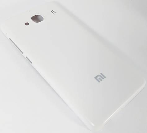 Задняя крышка Xiaomi Redmi 2 white, сменная панель сяоми ксиоми редми, фото 2