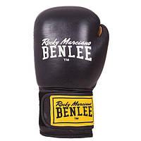 Перчатки боксерские Benlee EVANS 10oz /Кожа /черные benlee rocky marciano,