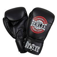 Перчатки боксерские Benlee PRESSURE 14oz /PU/черно-красно-белые benlee rocky marciano,, фото 1