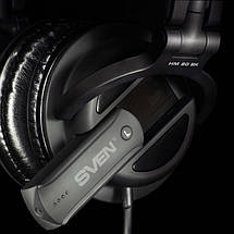 Наушники с микрофоном SVEN HM 80 BK, гарнитура, фото 2
