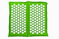 """Коврик складной массажно-акупунктурный """"Релакс"""" для стоп 47х43 см зеленый, фото 1"""