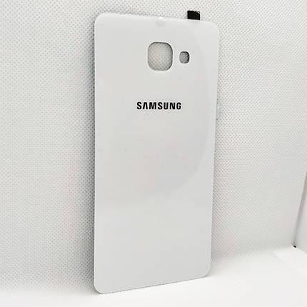 Задняя крышка Samsung A710F Galaxy A7 (2016) white, сменная панель самсунг а7, фото 2