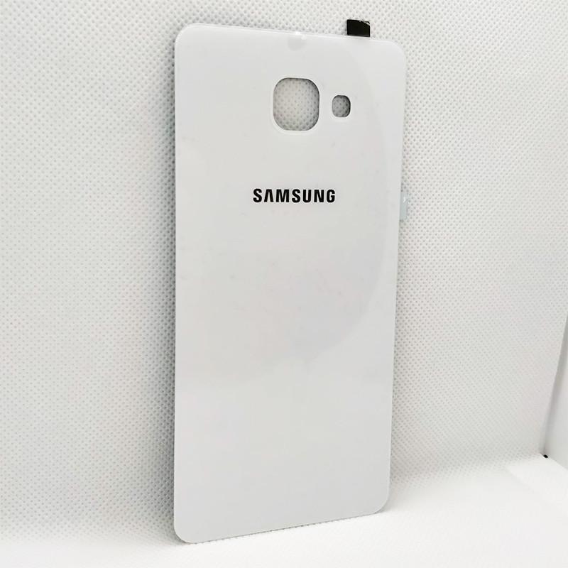 Задняя крышка Samsung A710F Galaxy A7 (2016) white, сменная панель самсунг а7