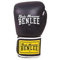 Перчатки боксерские Benlee TOUGH 12oz /Кожа /черные benlee rocky marciano,, фото 1