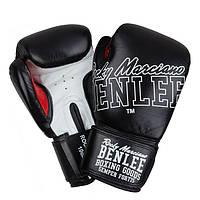 Перчатки боксерские Benlee ROCKLAND 12oz /Кожа /черно-белые benlee rocky marciano,, фото 1