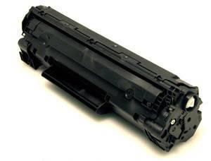 Картридж HP 35A (CB435A), Black, LJ P1005/P1006, ресурс 1500 листов, BASF (BASF-KT-CB435A), фото 2