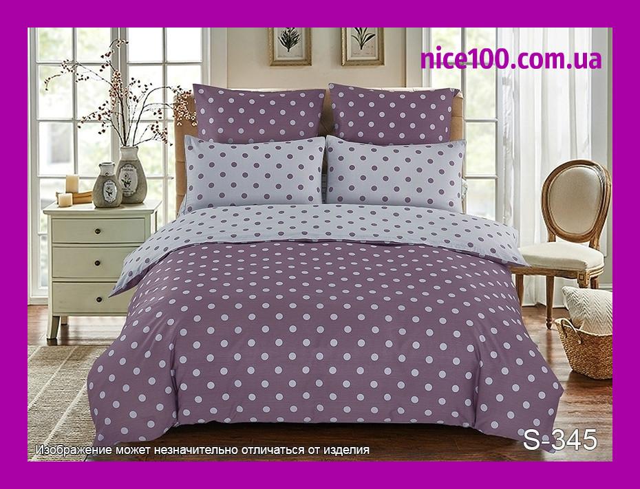 Полуторный комплект постельного белья из хлопка Полуторний комплект постільної білизни на молнии S345