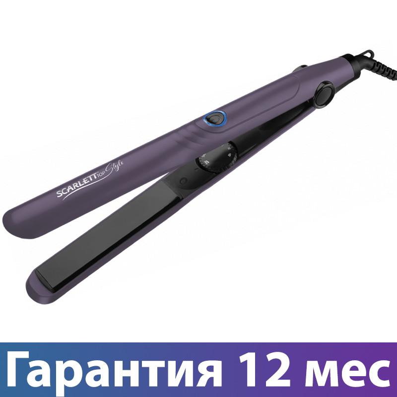 Прасочка для волосся Scarlett SC-HS60T67 Violet, 38W, кераміка, випрямляч і завивка волосся