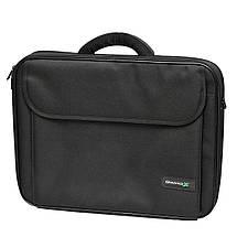 """Сумка для ноутбука 17.3"""" Grand-X HB-175, черная, 45 x 37 x 7 см, фото 3"""