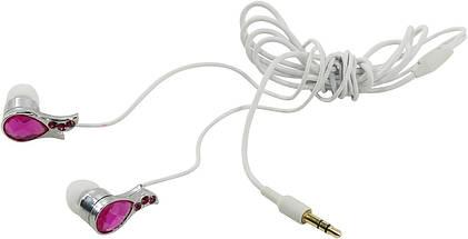 Наушники SVEN SEB TOURMALINE розовые, вакуумные, проводные для телефона, навушники свен, фото 3