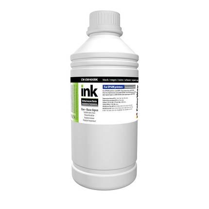 Чернила ColorWay Epson S22, SX125/130/230, XP-33/103/203/303, T26, TX106/200, Black, 1 л (CW-EW400BK1), краска для принтера, фото 2