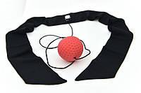 Мяч для бокса Fight Ball fighter тренажер универсальный (с повязкой) onhillsport,, фото 1