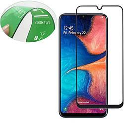 Защитная пленка Ceramics 9D (full glue) (без упак.) для Samsung Galaxy A20 / A30 / A50