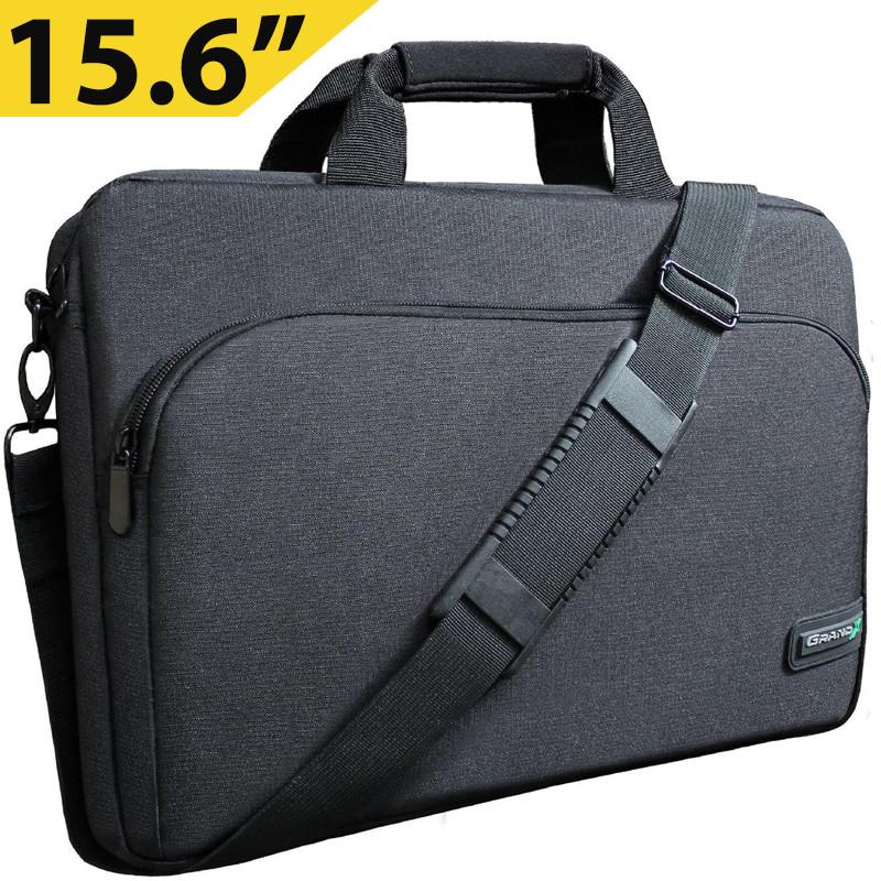 """Сумка для ноутбука 15.6"""" Grand-X SB-129, черная, 39 х 27 х 3 см"""
