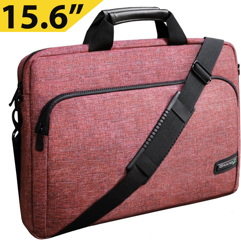 """Сумка для ноутбука 15.6"""" Grand-X SB-139C, кораловый, 38 х 26 х 5 см"""