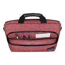 """Сумка для ноутбука 15.6"""" Grand-X SB-139C, кораловый, 38 х 26 х 5 см, фото 3"""