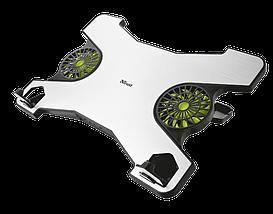 """Охлаждающая подставка для ноутбука 17.3"""" Trust Xstream, 2 вентилятора, регулировка высоты, 360х245х17 мм, фото 2"""