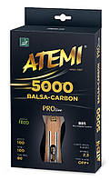 Ракетка н / т Atemi 5000 PRO Balsa-Carbon ECO-Line ATEMI 10061