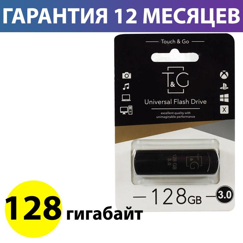 Флешка USB 3.0 128 Gb T&G 011 Classic series Black (TG011-128GB3BK)