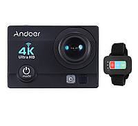 Экшн камера Action Camera Q3H с пультом 24 крепления Black u7853, КОД: 1371133