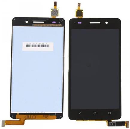 Модуль Huawei Honor 4C black дисплей экран, сенсор тач скрин Хонор, фото 2