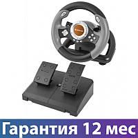 Игровой руль для ПК Defender Challenge mini LE, руль с педалями для компьютера