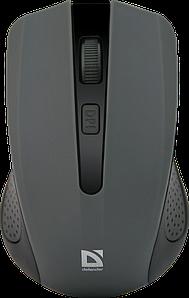 Беспроводная мышка Defender Accura MM-935, Grey, компьютерная мышь дефендер для ПК и ноутбука