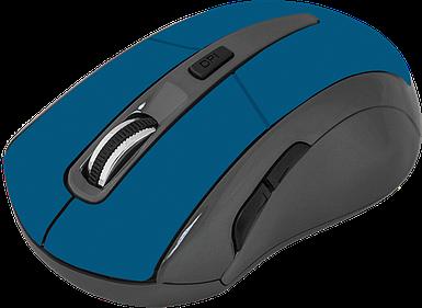 Безпровідна мишка Defender Accura MM-965, Blue, комп'ютерна миша дефендер для ПК та ноутбука