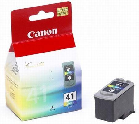 Картридж Canon CL-41, Color (Цветной), iP1200/1800/2500, MP140/150/160/170/180/210/220/450/470, 12 ml, OEM