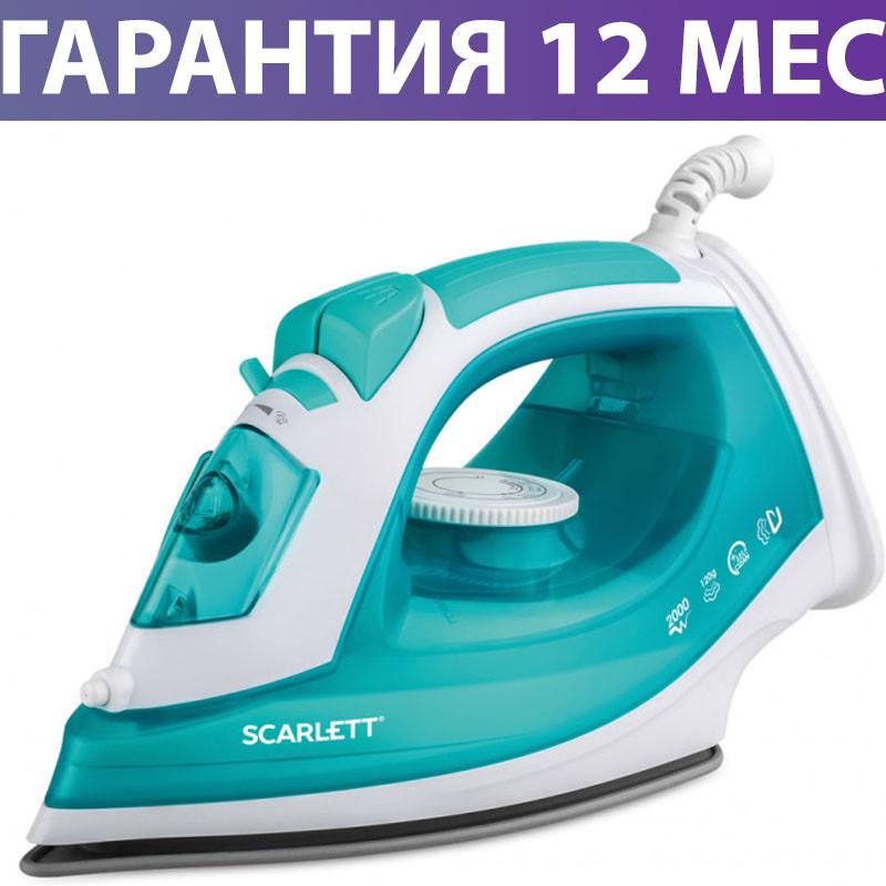 Утюг Scarlett SC-SI30P09 Green, 2000W