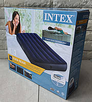 Intex Односпальній надувний матрац 64757 одномісний, 99х191х25см, в коробці