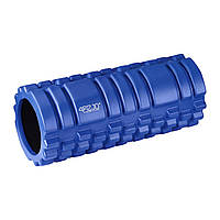 Масажний ролик (валик, роллер) 4FIZJO 33 x 14 см 4FJ0026 Blue
