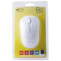Беспроводная мышка Gemix RIO 1200 DPI, White, компьютерная мышь гемикс для ПК и ноутбука, фото 3