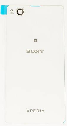 Задняя крышка Sony Xperia Z1 Compact Mini (D5503) white, сменная панель сони иксперия, фото 2