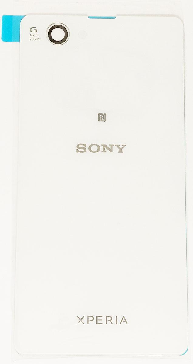 Задняя крышка Sony Xperia Z1 Compact Mini (D5503) white, сменная панель сони иксперия