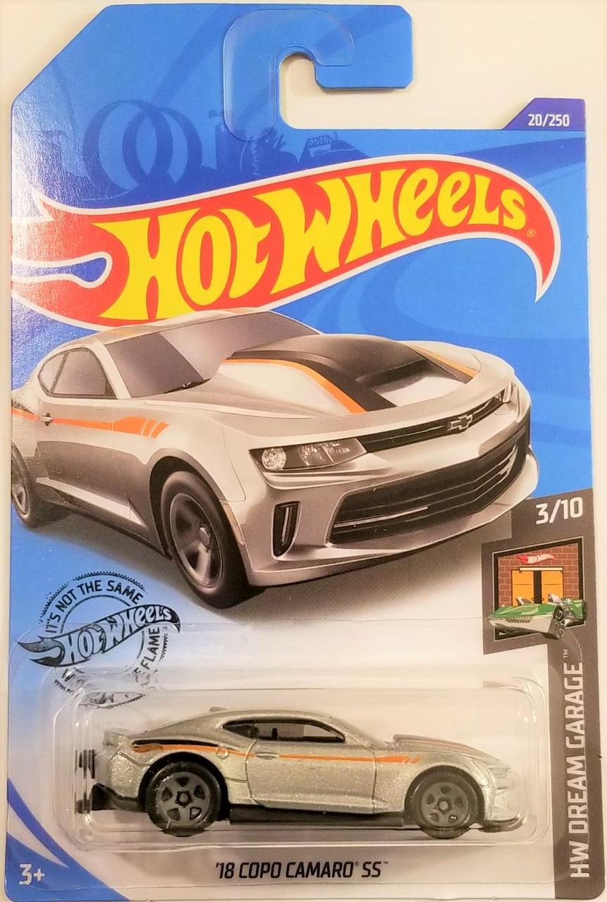 Машинка Hot Wheels '18 COPO CAMARO SS