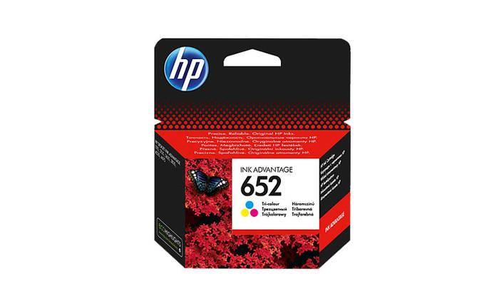 Картридж HP №652 (F6V24AE), Color (Цветной), DJ Ink Advantage 1115/2135/ 3635/3835, OEM, фото 2