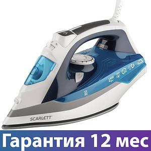 Праска Scarlett SC-SI30P06, 2400 Вт, сухе прасування, відпарювання, підошва - кераміка