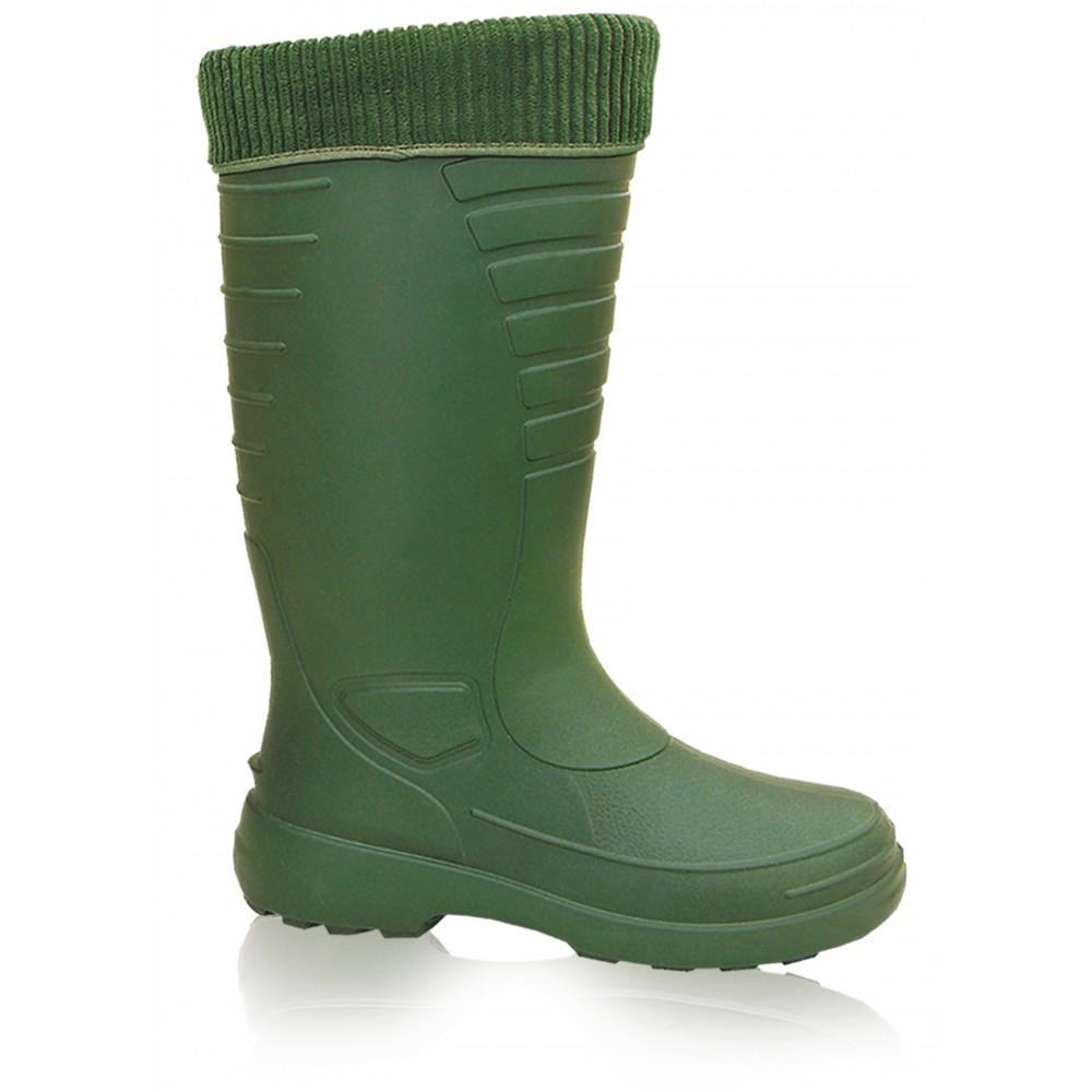 Сапоги рыбацкие Lemigo Grenlander 862 EVA с носком размер 40, стелька 25,5 см, зеленые