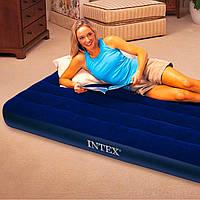 Надувная кровать матрас 64756 Intex (191x76x25см), фото 1