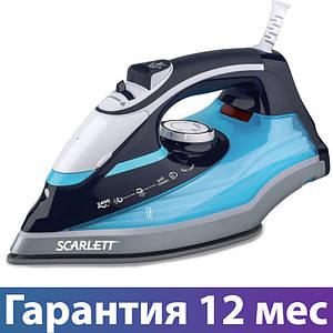 Праска Scarlett SC-SI30K18, 2400 Вт, вертикальне відпарювання, паровий удар, розбризкування і суха прасування