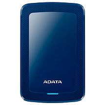 """Внешний жесткий диск 1 Тб/Tb A-Data DashDrive HV300, Blue, 2.5"""", USB 3.1 (AHV300-1TU31-CBL), фото 3"""