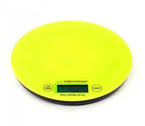 Весы кухонные Esperanza EKS003G, электронные весы для кухни, електронні кухонні ваги, фото 2