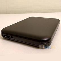 "Карман внешний USB 3.0 HQ-Tech HDD-25SU3-A1, SATA 2,5"", чехол, безотверточная установка, фото 2"