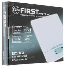 Весы кухонные First FA-6400, электронные весы для кухни, електронні кухонні ваги, фото 3