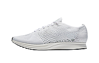 Кроссовки Nike Flyknit Racer Triple White