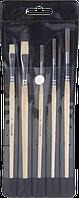 Набор школьных кистей Brunnen 5 шт черный чехол 104893501
